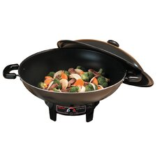 6.5 Quart Electric Wok with Tempura Rack