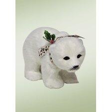 Carolers Walking Polar Bear Cub