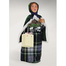 Carolers Hunter Shopping Family Woman
