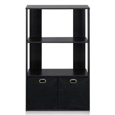 """Simplistic 35.9"""" Accent Shelves"""