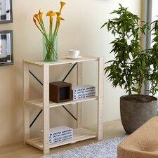 "Pine 27.2"" Etagere Bookcase (Set of 2)"