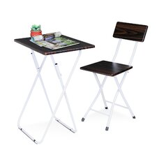 Space Saving Writing Desk and Chair Set