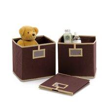 Laci Multipurpose Foldable Soft Storage Bins (Set of 3)