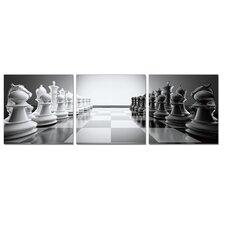 Chess 3 Piece Photographic Print Set