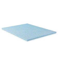 "Healthy Sleep 2"" Cool Gel Ventilated Memory Foam Mattress Topper"