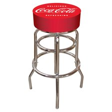 "Coca Cola 31"" Swivel Bar Stool"
