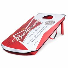 Budweiser Can 10 Piece Bean Bag Toss Game Set