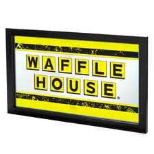 Waffle House Framed Mirror