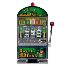 Luck of the Irish Slot Machine Bank