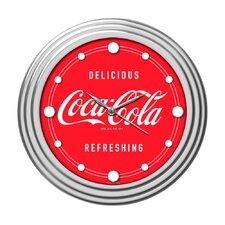 """Coca Cola 11.75"""" Coca Cola Wall Clock"""