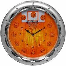 Quartz Movement Basketball Wall Clock