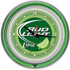 "14"" Bud Light Wall Clock"