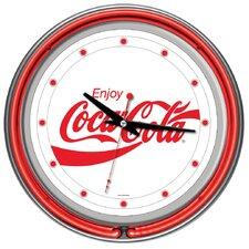 "14"" Enjoy Coke Wall Clock"