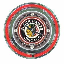 "NHL Team 14"" Wall Clock"