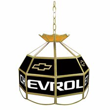 Chevy Stained Glass Lighting Fixture