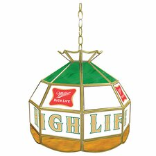 "Miller High Life 16"" Stained Glass Tiffany Lamp"