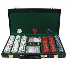 Pro Clay Casino Chips with Deluxe Case