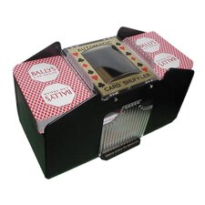 Automatic Four Deck Playing Card Shuffler