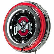 """14"""" NCAA Neon Wall Clock"""