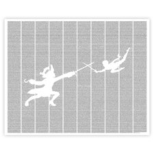 Peter Pan Paper Print