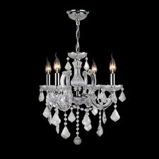 Catherine 4 Light Crystal Chandelier
