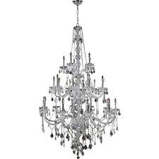 Provence 25 Light Crystal Chandelier