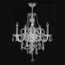 Provence 5 Light Crystal Chandelier
