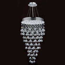 Icicle 9 Light Crystal Chandelier