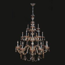 Provence 21 Light Crystal Chandelier