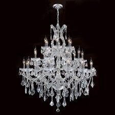 Maria Theresa 28 Light Crystal Chandelier