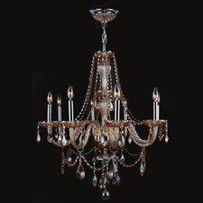 Provence 8 Light Crystal Chandelier