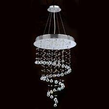Helix 10 Light Crystal Chandelier