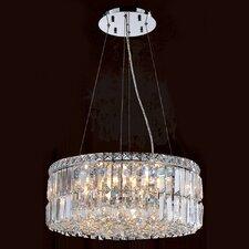 Cascade 12 Light Crystal Pendant