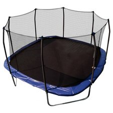 13' Square Trampoline with Enclosure