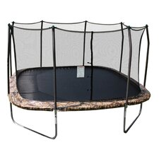 Camo 14' Square Trampoline and Enclosure