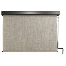 Pole Operated Exterior Outdoor Solar Shades