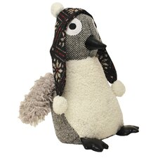 Penguin Polyester Blend Door Stop