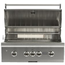 """36"""" Built-In Gas Grill with LED Lights"""