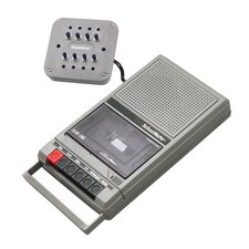 Cassette Player with 8 Position Jack Box