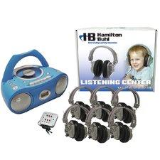Basic Cassette / CD / AM FM Listening Center 6 Stations