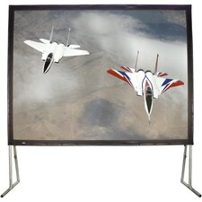 """Matte White 100"""" Diagonal Fixed Frame Projection Screen"""