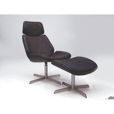 Jackson Side Chair with Ottoman