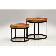 Olive 2 Piece End Table Set