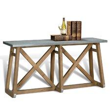 Sleigh Console Table