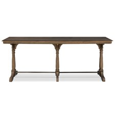 Tri Columned Console Table