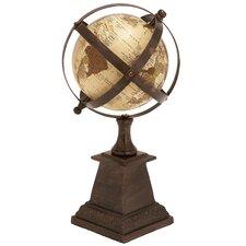 Aluminum Globe Sculpture