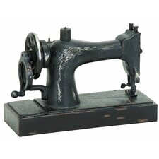 Décor Industrial Age Sewing Machine Sculpture