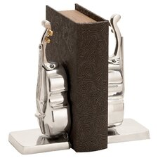 Library Aluminum Book End (Set of 2)