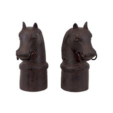 Alluring Horse Bookend (Set of 2)