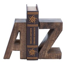 Wood Bookend (Set of 2)